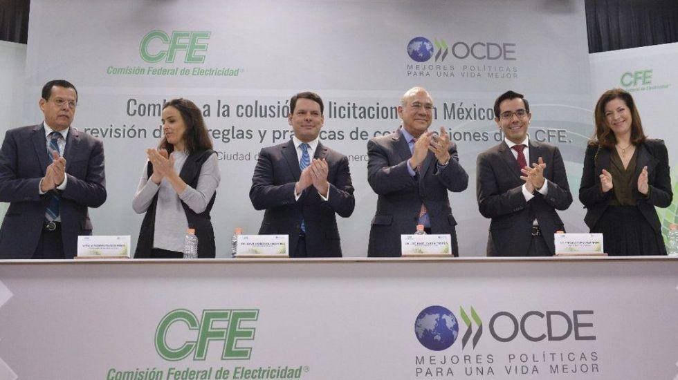 Busca CFE mejorar proceso en licitaciones públicas - Foto de CFE
