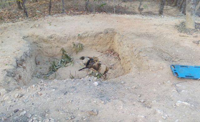Recuperan ocho cuerpos de fosa en Chilpancingo - Foto de Quadratín