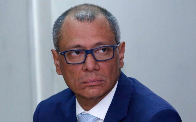 Cesan a vicepresidente de Ecuador por sobornos de Odebrecht - Foto de Internet