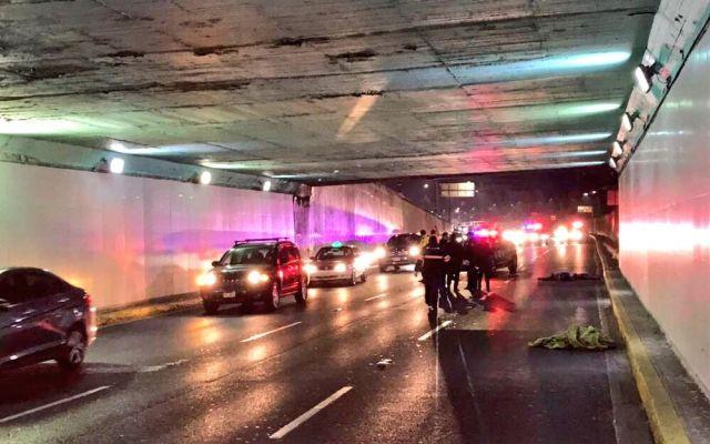 Muere hombre tras ser atropellado en Viaducto - Foto de @israellorenzana