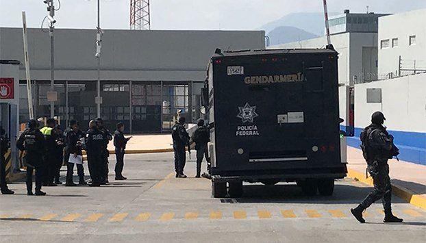 Ingresa Borge a penal de Morelos