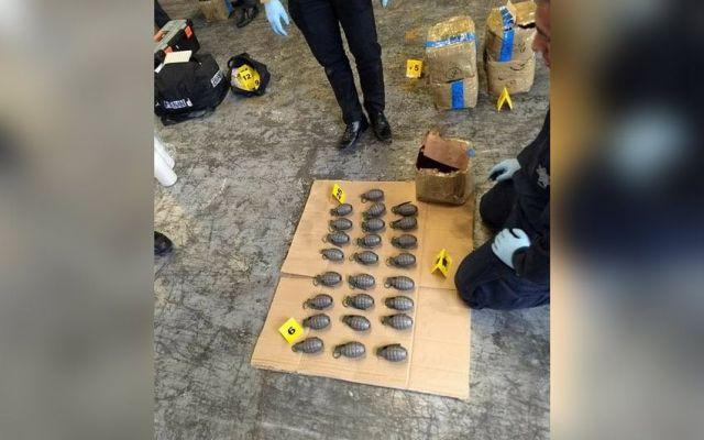 Aseguran casi dos mil granadas en bodega en Azcapotzalco - Foto de Gerardo Jiménez