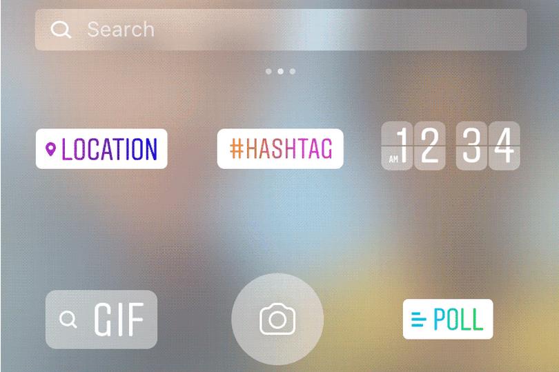 Instagram permite poner stickers animados en historias - Foto de Instagram
