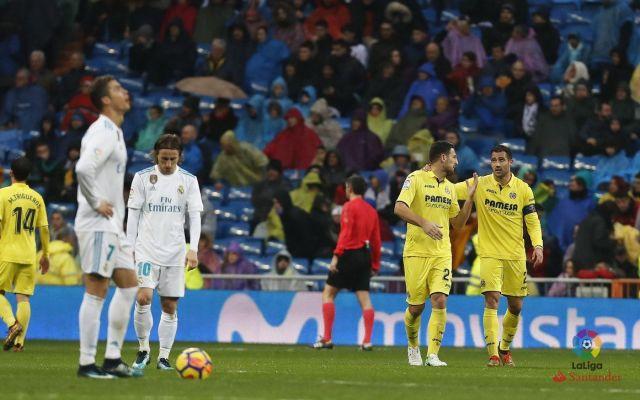 Real Madrid pierde contra el Villarreal y se aleja del Barcelona en la Liga - Foto de @VillarrealCF