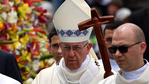 El papa Francisco pide crear alianza contra el odio y la indiferencia - Foto de AFP