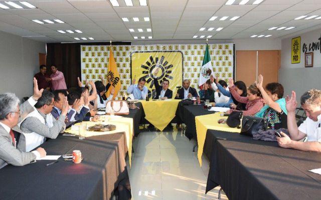 PRD aprueba coalición con el PAN y MC en cinco estados - Foto de @PRDMexico