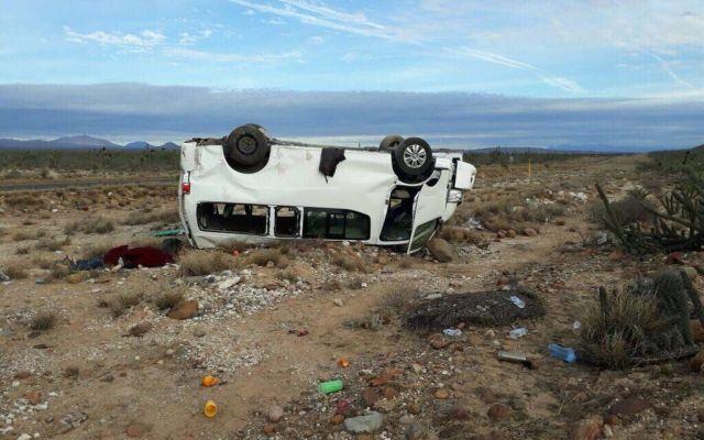 Marichuy sufre accidente en Baja California Sur - Foto de @jenarovillamil