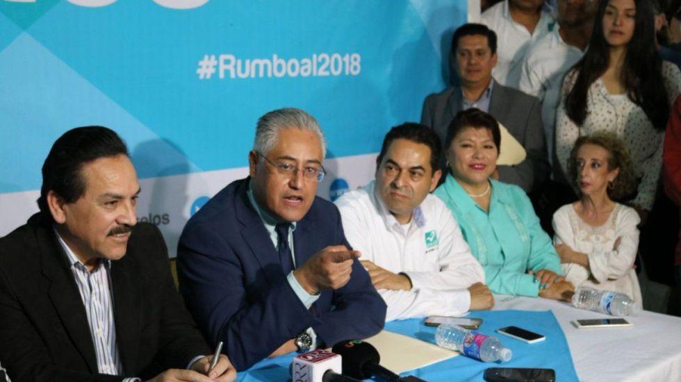 Alejandro Vera contendrá por gubernatura de Morelos con Nueva Alianza - Foto de Nueva Alianza Morelos