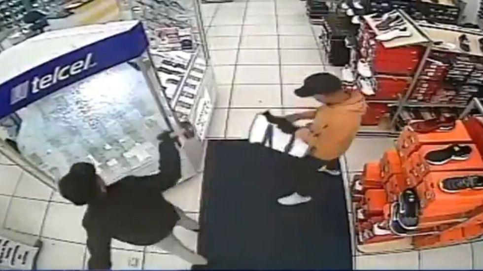 Capturan a 13 personas por asaltar tiendas departamentales en la Portales - Foto: SSP CDMX.