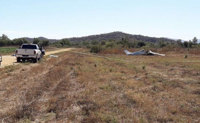 Accidente aéreo en Sinaloa deja dos muertos - Foto de El Sol de Sinaloa