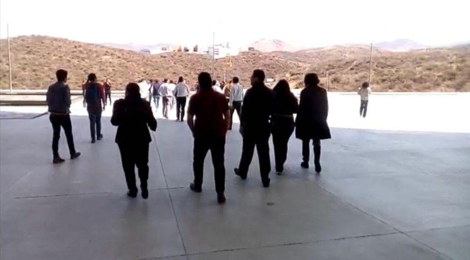 Desalojan Congreso de Guanajuato tras activarse alarma contra incendios - Foto: Milenio.
