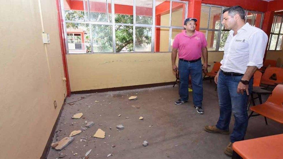 Suspenden clases en localidades afectadas por sismo en Oaxaca - Foto de IEEPO
