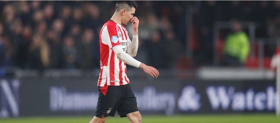 Suspenden tres juegos al 'Chucky' Lozano - Foto: PSV.