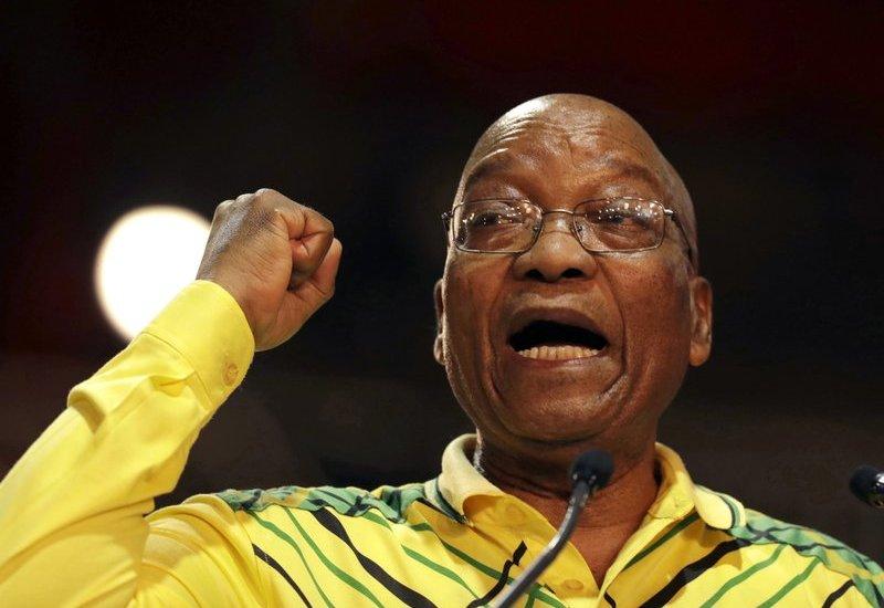 Partido gobernante en Sudáfrica exige renuncia de Jacob Zuma - Jacob Zuma. Foto de AP