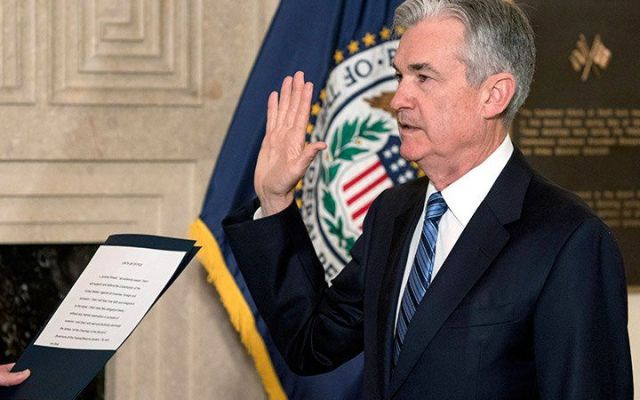 Jerome Powell asume la presidencia de la Fed - Foto de AP