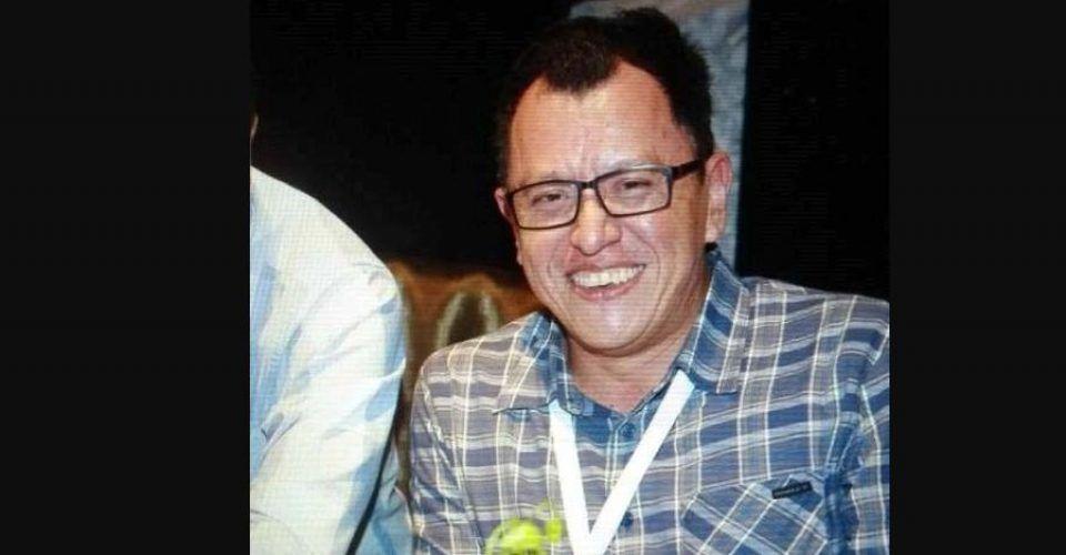 Desaparece el periodista Mario Cañas - Periodista Mario Cañas. Foto de internet