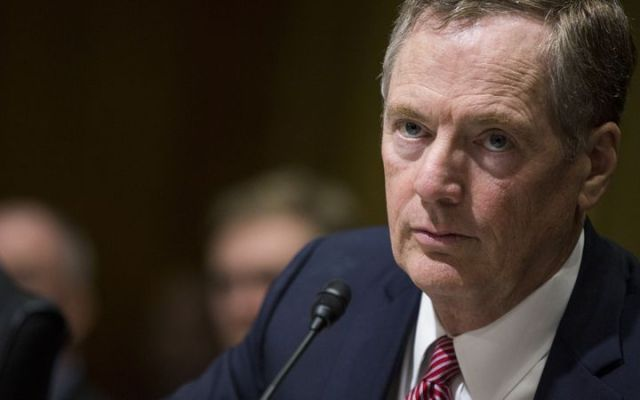 EE.UU. reporta progresos con México en negociaciones del TLCAN - Foto de Bloomberg
