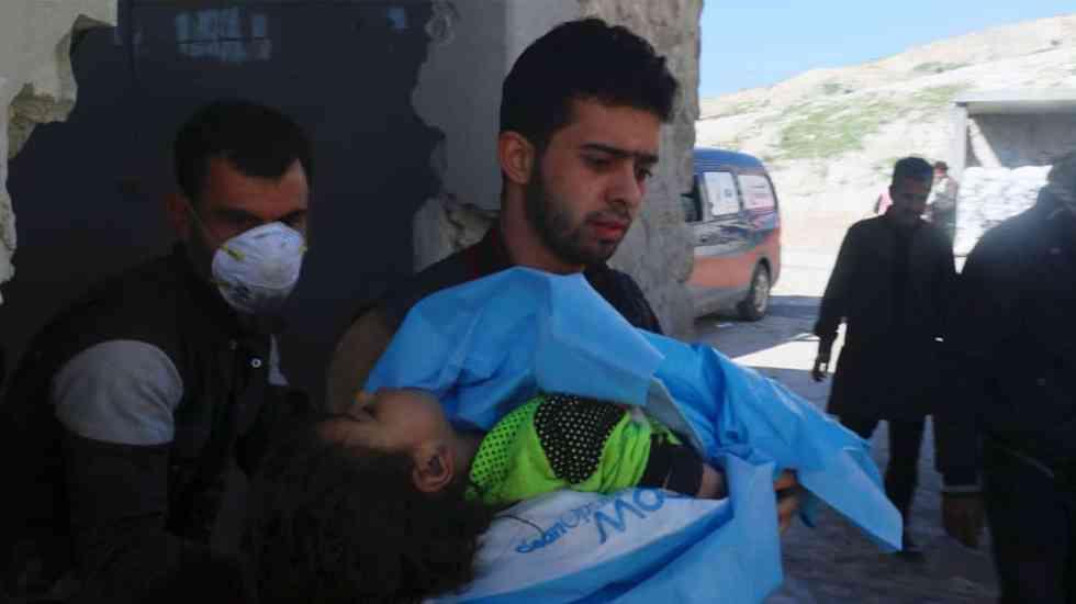 Confirman uso de gas cloro en ataque de febrero en Siria - Foto de internet