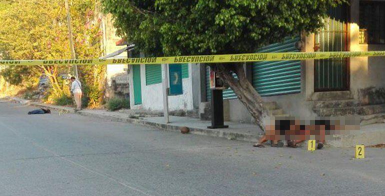 Asesinan a dos mujeres y un hombre en Acapulco - Foto de Internet
