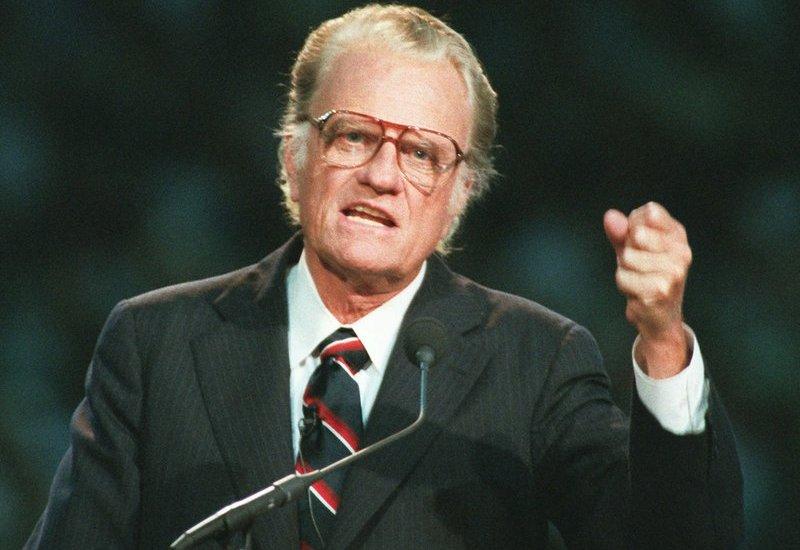 Muere el evangelizador Billy Graham - Foto de AP