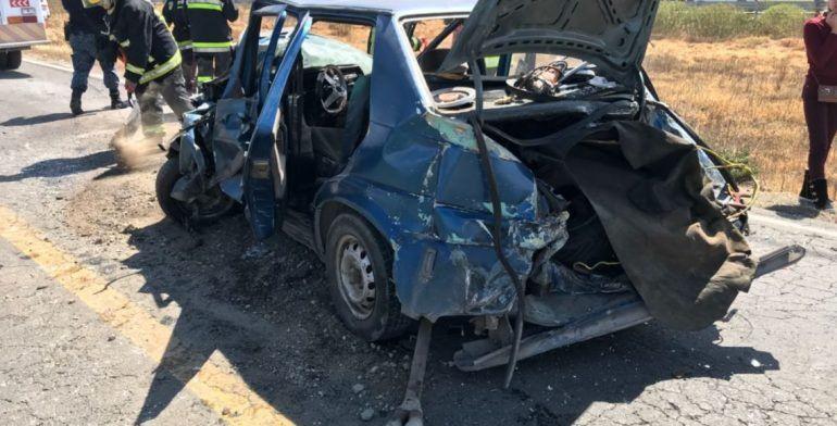 Carambola deja 12 lesionados en Hidalgo - Foto de Quadratín