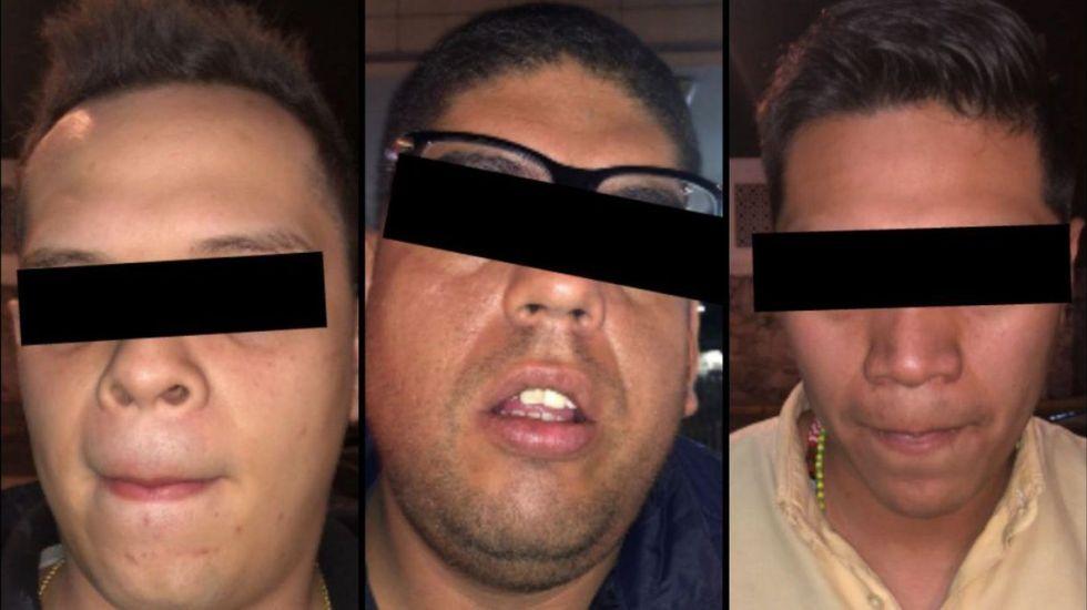 Detienen en Gustavo A. Madero a tres por clonación de tarjetas bancarias
