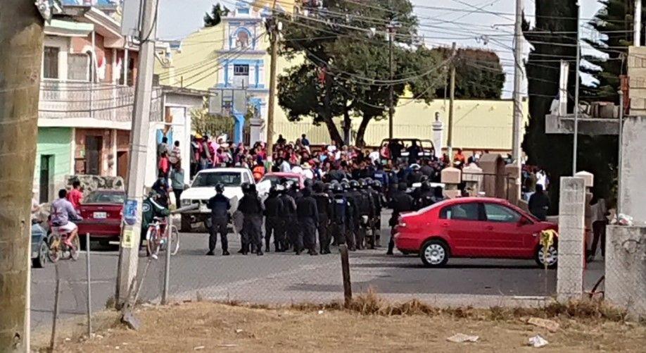 Arrestan en Puebla a cuatro personas por linchamiento - Foto: @edgarm80