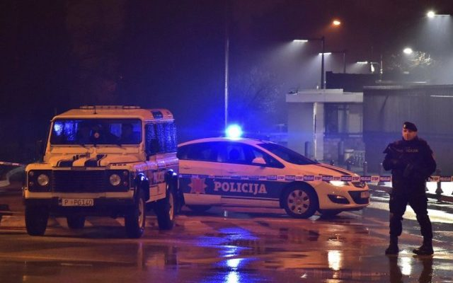 Atacante arroja granada a embajada de EE.UU. en Montenegro - Foto de AP