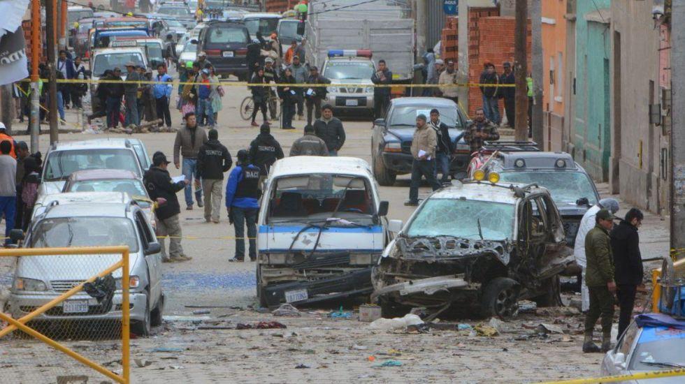 Explosión deja cuatro muertos en Bolivia - Foto de APG Noticias