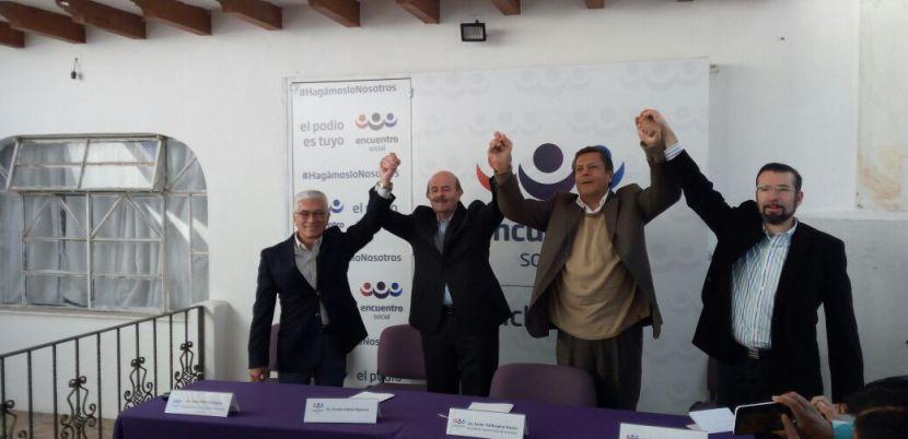 Fausto Vallejo será candidato a presidente municipal de Morelia por el PES y PT