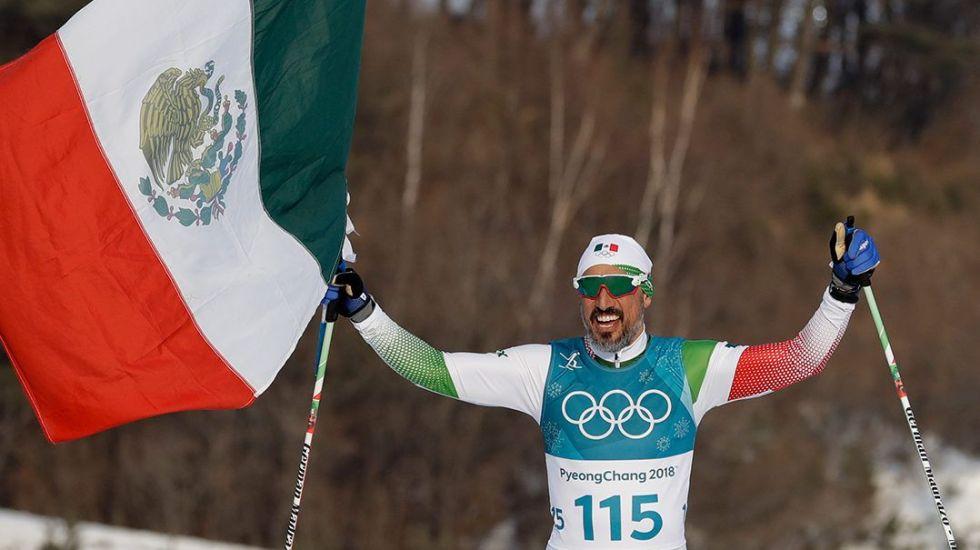 """""""El honor más grande de mi vida fue portar la bandera mexicana"""": Germán Madrazo - Foto de Internet"""