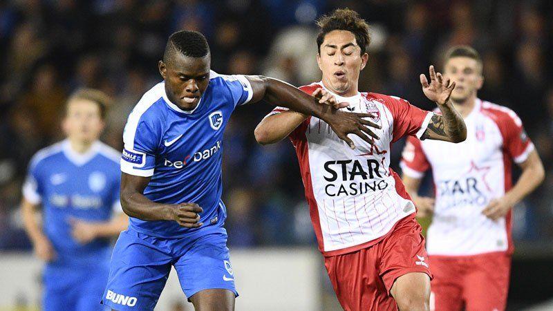 Con Omar Govea jugando los 90 minutos, Mouscron cae 0-1 frente al Genk