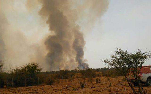 Logran extinguir incendio de 3km ocasionado por un asado en Argentina