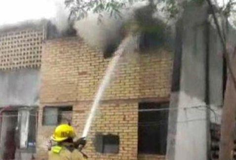 Ebrio provoca incendio tras pelea en Monterrey - Foto de Milenio