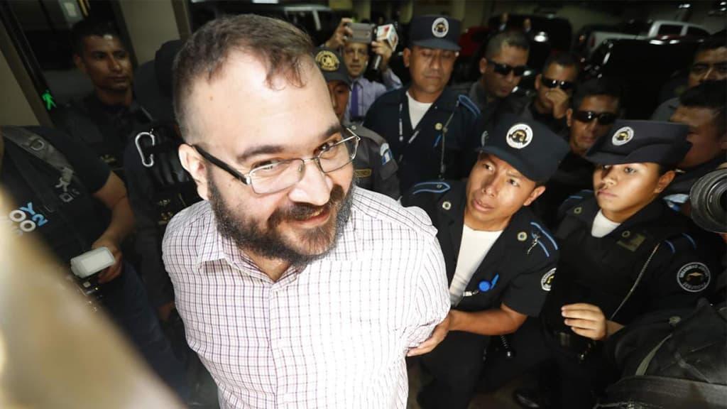 PGR reclasifica delitos de Duarte - Javier Duarte detenido. Foto de Noroeste