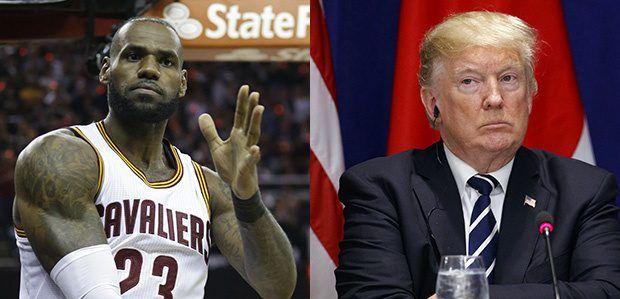 """LeBron James sobre Trump: """"es alguien que le importa una m… la gente"""" - Foto: Internet."""