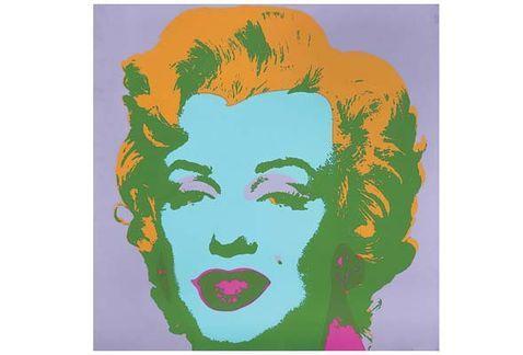 Subastarán obra de Andy Warhol en México - Foto de Internet