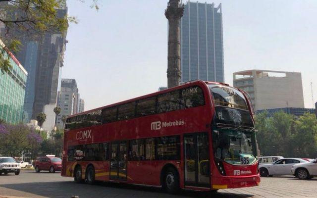 Metrobús no suspenderá operaciones; ajustará operación por COVID-19 - Foto de archivo