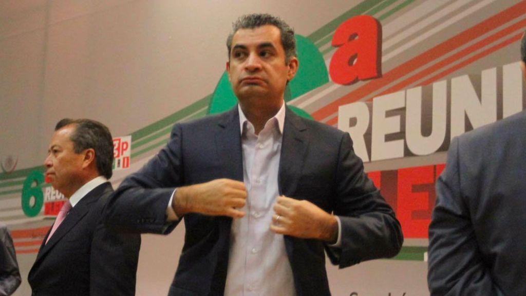 Ochoa dejará presidencia del PRI por candidatura plurinominal. Ruiz Esparza se queda fuera - Foto de Quadratín
