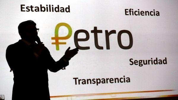 Venezuela lanza el petro - Foto de @teleSURtv
