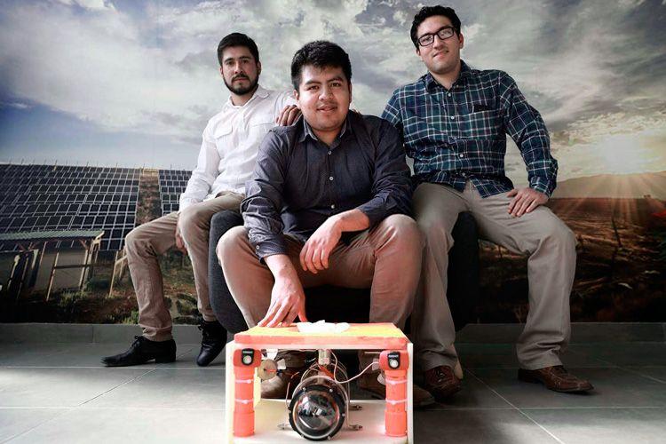 Crean robot en la UNAM para limpiar cisternas sin tener que vaciarlas - Foto de Gaceta Digital UNAM