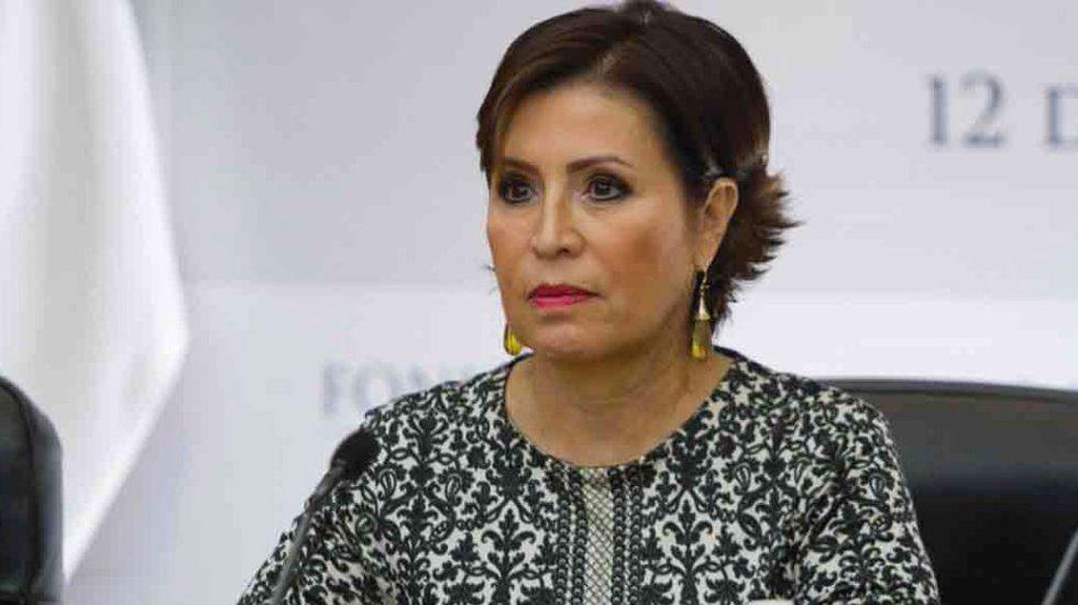 Rosario Robles responde a Reforma por presuntos desvíos - Rosario Robles. Foto de Twitter