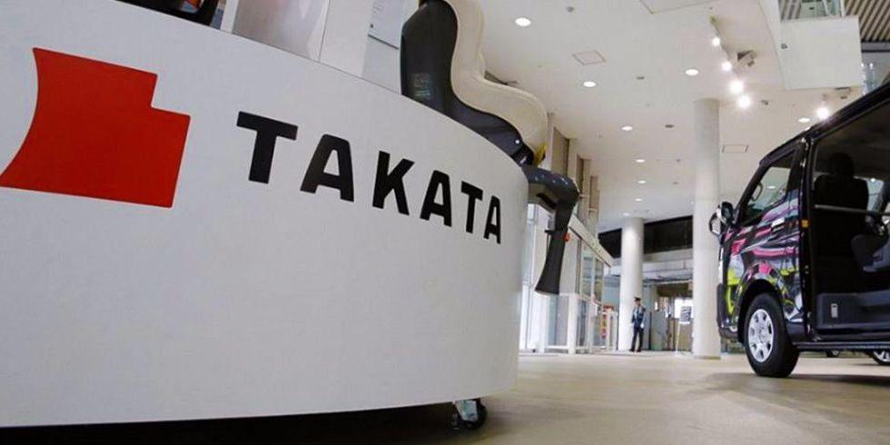 Takata se declara en bancarrota por bolsas de aire defectuosas