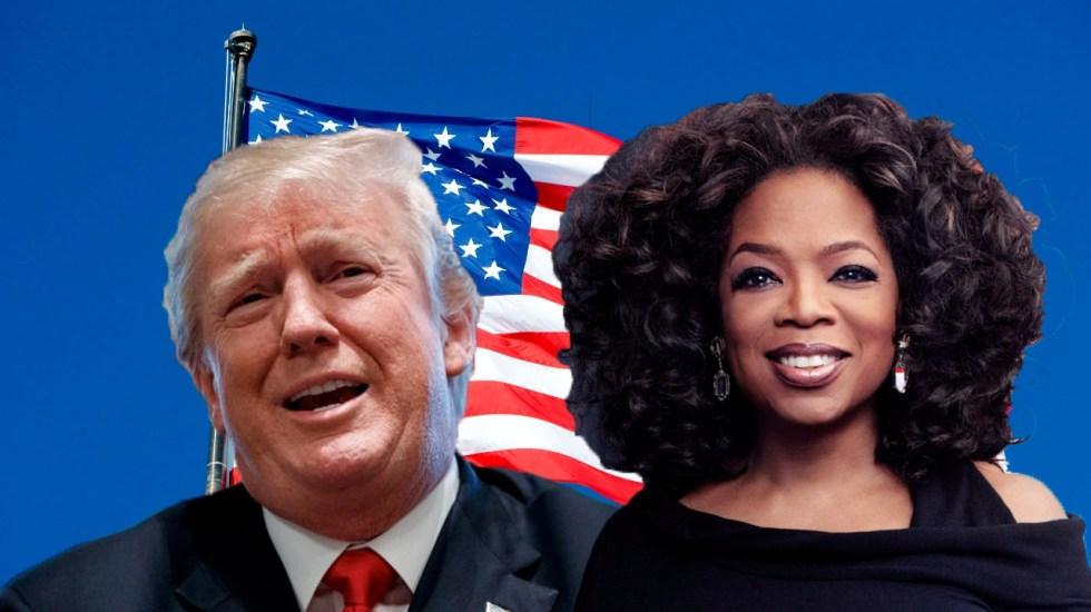 Espero que Oprah se postule para que sea derrotada como todos: Trump