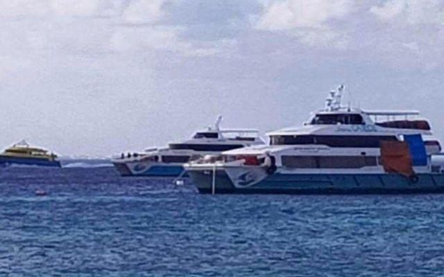 Dos barcos de Borge están varados en África - Foto de @DAVIDROMEROVARA