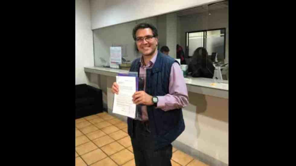 Ríos Piter pide registro como candidato presidencial independiente - Foto: @RiosPiterJaguar.