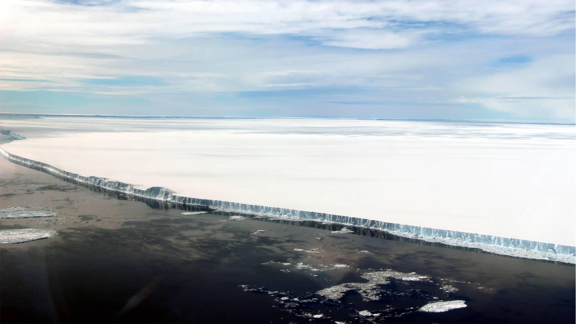 Hielo en el Ártico. Foto de Earth Observer Nasa