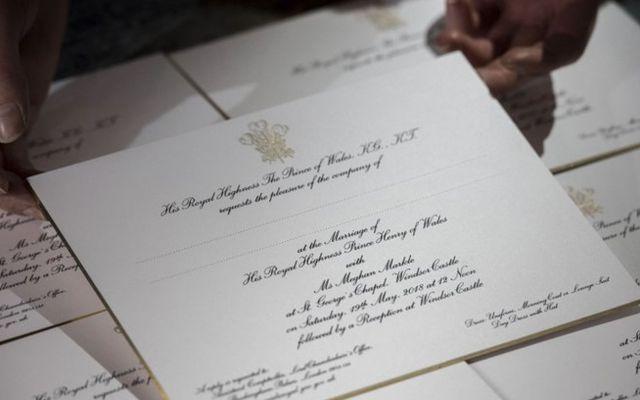 Envían invitaciones para boda del príncipe Harry y Meghan Markle - Foto de AP