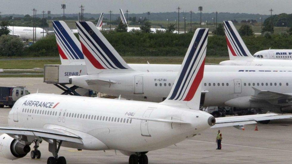 Cancela Air France cuarta parte de sus vuelos por huelga - Foto de South China News