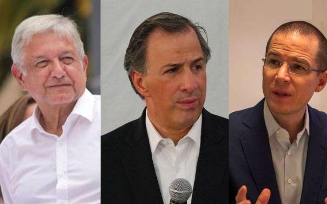 López Obrador se separa y Meade ya está en segundo: El Financiero - Foto Especial